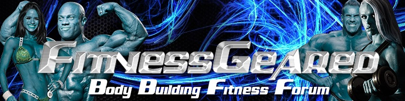 Body Building And Fitness Forum | Fitness Geared
